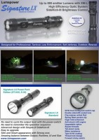 Lumapower Signature LX XM-L U3 LED 700 Lumen max. Power Pack Edition