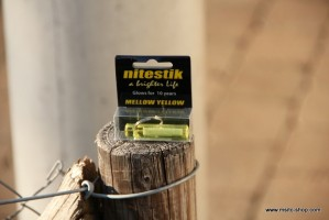 Nitestik Safety Marker Mellow Yellow (gelb) – Bild 1