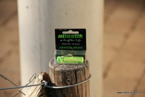 Nitestik Safety Marker Crystal Green (grün) – Bild 1