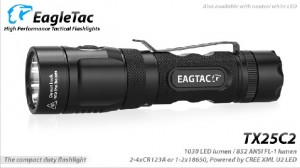 EagleTac TX25C2 XM-L2 LED 1180 Lumen max. Base – Bild 1