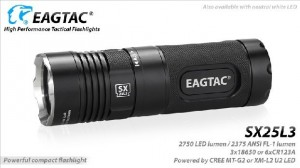 EagleTac SX25L3  MT-G2 P0-LED 2750 LED-Lumen max. Kit – Bild 1