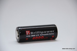 Brillipower Li-Io-Akku 26650 3.7V 4000 mAh – Bild 3