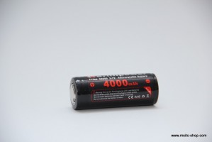 Brillipower Li-Io-Akku 26650 3.7V 4000 mAh – Bild 1