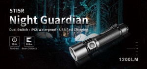 KLARUS ST15R Night Guardian CREE XP-L HD V6 1200 ANSI-Lumen max. – Bild 1
