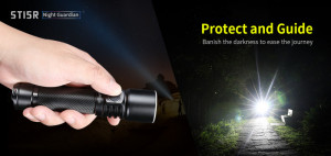 KLARUS ST15R Night Guardian CREE XP-L HD V6 1200 ANSI-Lumen max. – Bild 2