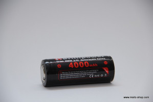 Brillipower Li-Io-Akku 26650 3.7V 4000 mAh – Bild 2