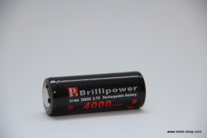 Brillipower Li-Io-Akku 26650 3.7V 4000 mAh – Bild 4